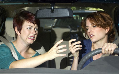 Driving While Distracted Can Cause a Car Accident in Colorado